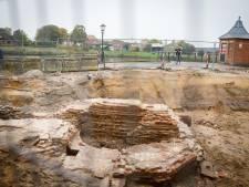Opgegraven Veerpoort in Hasselt geeft geheimen prijs