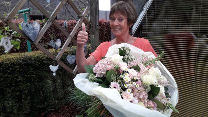 Gymjuf Martine verlaat Sint-Franciscus Evergem (met bloemen, zonder feestje)