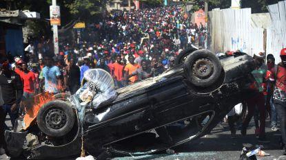 Protesten in Haïti gaan door ondanks toespraak president