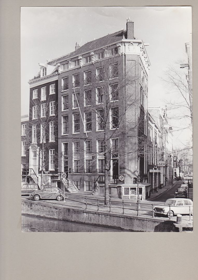 Castrum Peregini aan de Herengracht. Beeld Archief Castrum Peregrini Amsterdam