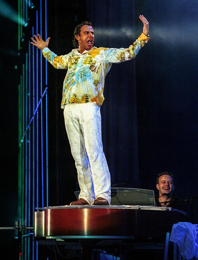 Het concert in 2002 was voor Borsato een keerpunt.