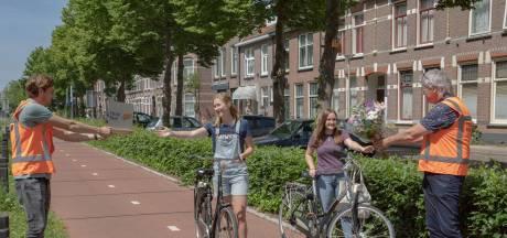 Het eerste plastic fietspad houdt miljoen keer stand in Zwolle en gaat de markt op: 'Eerste afspraken staan'