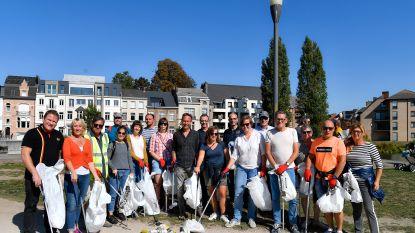 Vrijwilligers maken stad proper tijdens World Cleanup Day