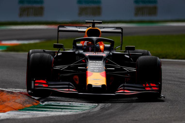 Max Verstappen in Monza. Beeld BSR Agency