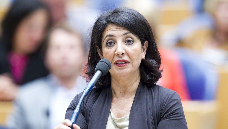 Tweede Kamerlid Khadija Arib (PvdA) wil dat de uitschrijvingen zo snel mogelijk worden teruggedraaid. Beeld ANP