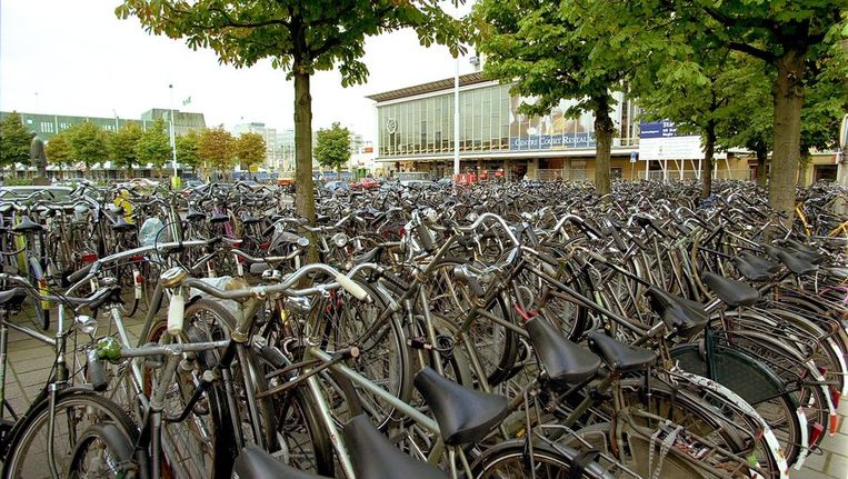 Het Stationsplein in Eindhoven. Beeld ANP