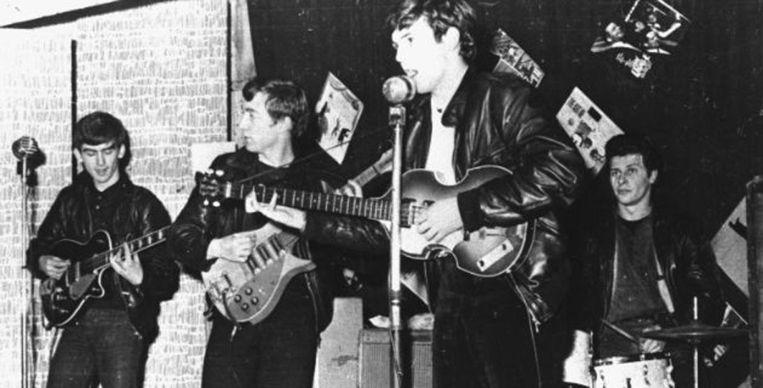 De jonge Beatles