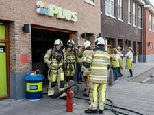 Supermarkt Benschop ontruimd na brand