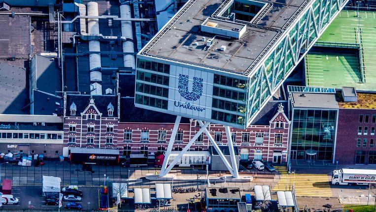 De geplande verhuizing van het Unilever-hoofdkantoor naar Rotterdam gaat niet door. Beeld anp