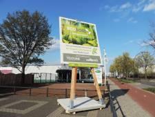 Herbruikbaar bouwbord in Harderwijk