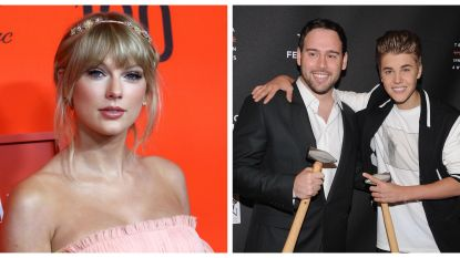 "Scooter Braun feliciteert Taylor Swift met ""briljant"" album"