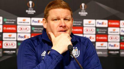 """439 dagen Hein bij Anderlecht in quotes: """"Ik vrees niet voor mijn job. Wat voor nut heeft het als ik ga vrezen voor mijn job?"""""""