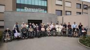 Bewoners van Woonzorgcentrum Huize Proventier op midweek