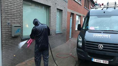 Blauwe graffiti van huis Cerclesupporters verwijderd