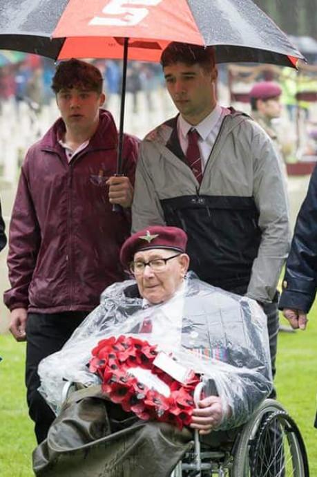 Britse Airborneveteraan Slag om Arnhem Dennis Collier overleden