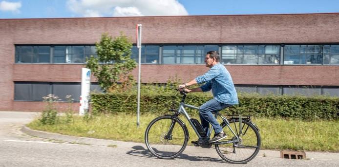 Jos Overmars uit Raalte doet mee aan Spitsfietsen.