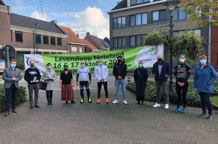 In Vorselaar werd vrijdagnamiddag Levensloop Neteland 2021 voorgesteld