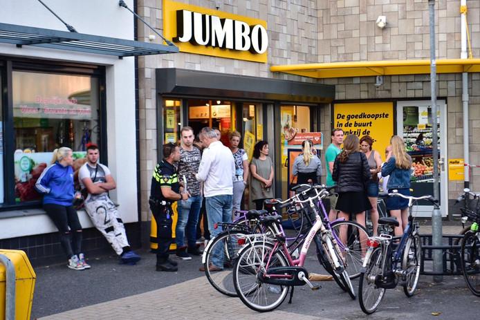 Overval op Jumbo in Eindhoven in juli 2017.