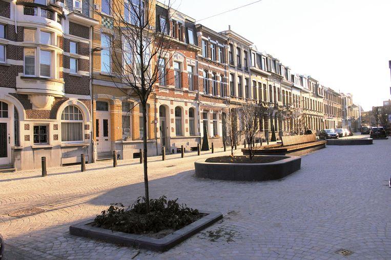 De Pieter Reypenslei in Mortsel.