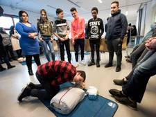 Verplicht leren reanimeren op Trajectum College in Overvecht