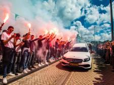 Honderden Westlanders bewijzen laatste eer aan Jim (17) uit Naaldwijk