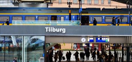 Station Tilburg ontruimd na bommelding, treinverkeer platgelegd