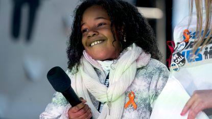 """Kleindochter (9) van Martin Luther King heeft een droom: """"Een wereld zonder wapens. Punt"""""""