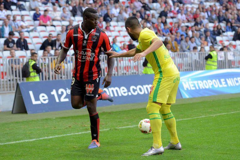 Balotelli scoorde voor Nice. Beeld Proshots