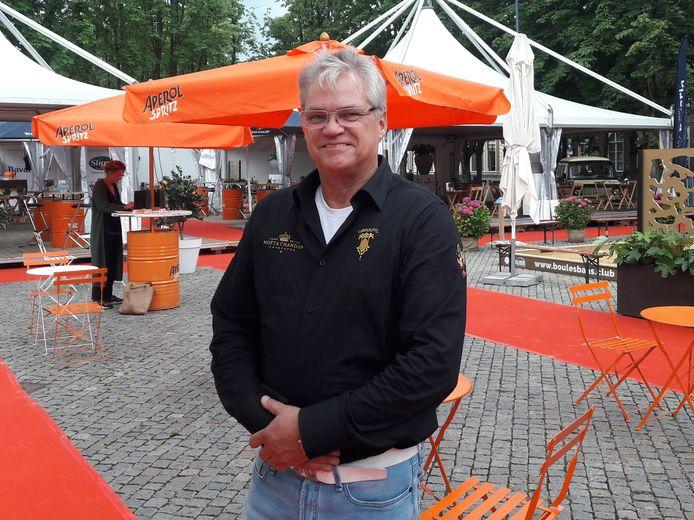 Jan van Son op de Parade.