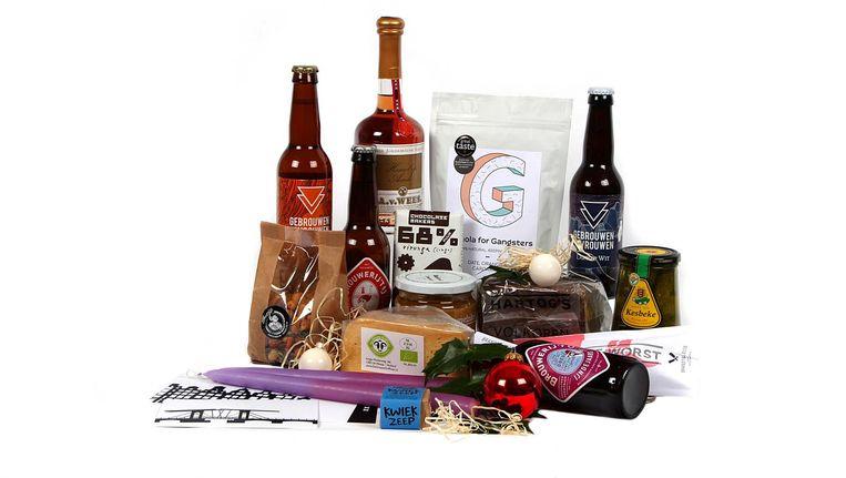 Lokaal gemaakte producten Beeld Amsterdamse Pakketjes