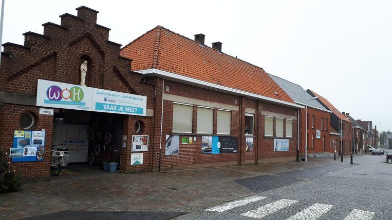 Met het geld kan VBS Hillegem het sanitair gedeelte vernieuwen.
