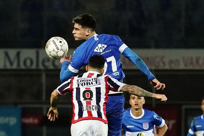 Slobodan Tedic begon tegen Willem II voor het eerst dit seizoen in de basis. Scoren deed de lange PEC-spits niet, maar hij liet wel zien dat hij in de lucht nagenoeg onklopbaar is.