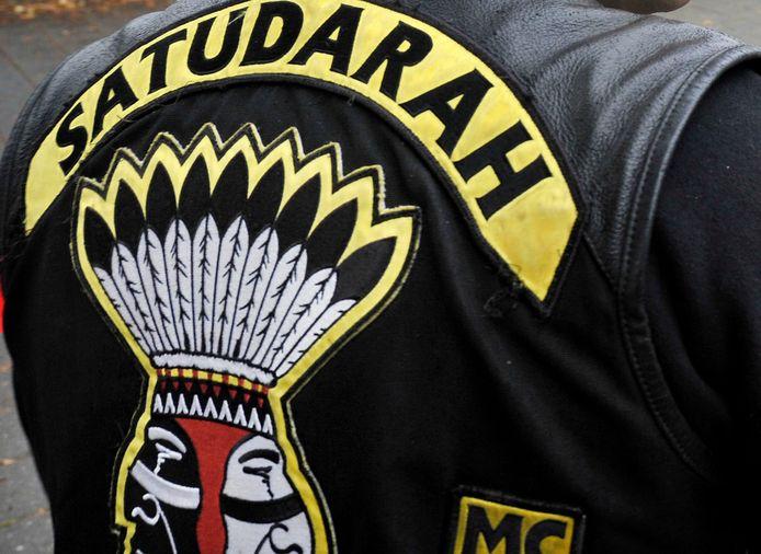 het logo van de beruchte motorclub Satudarah