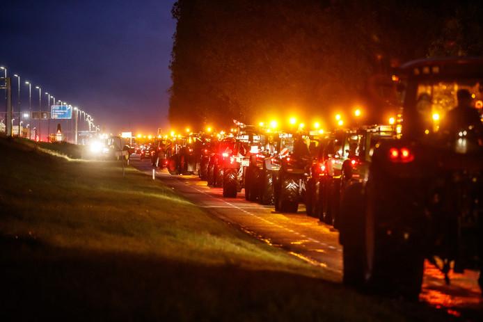 Boeren protesteerden dinsdag in Den Haag