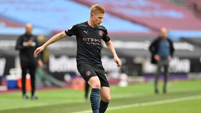 Man City klasse te groot voor Marseille, De Bruyne deelt twee assists uit