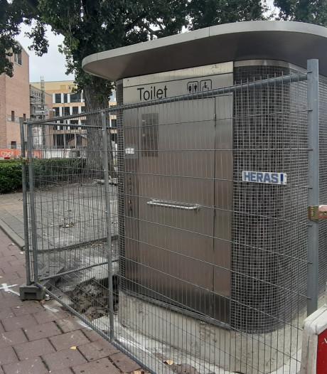 Openbaar toilet grenst direct aan fietspad in Hengelo