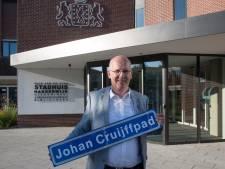 Tweederde wil een Johan Cruijffpad in Harderwijk