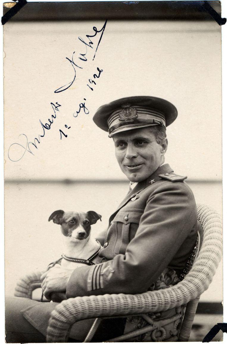 Umberto Nobile in 1926. Hij is de initiatiefnemer van de poolexpeditie met zeppelin Italia. Beeld