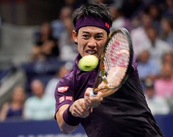 Nishikori weerde zich kranig tegen de tweevoudig winnaar van het grandslamtoernooi, maar de als 21e geplaatste Japanner was gewoonweg niet opgewassen tegen het spel van Djokovic.