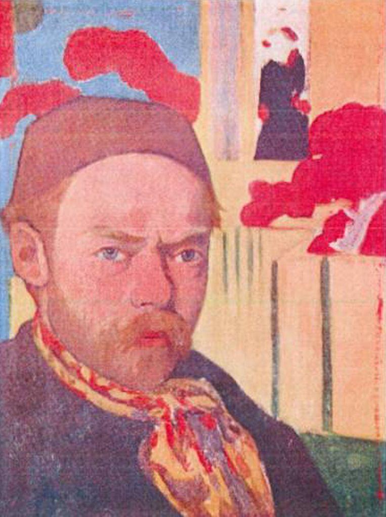 Meyer de Haan: 'Autoportrait' (circa 1889 ¿ '91) Beeld