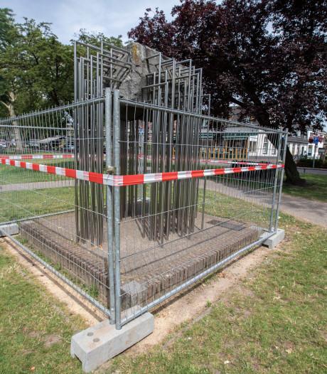 Reparatie scheurend kunstwerk kost Nuenen 15.000 euro