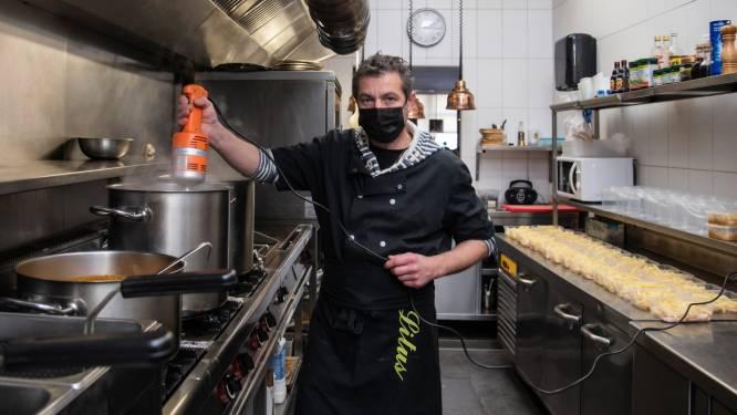 Frigo moet leeg door verplichte sluiting horeca: Danny van eethuis Litus maakt soep voor minderbedeelden