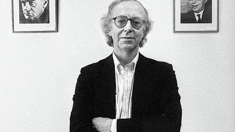 Filosoof Maarten van Nierop in 1991 Beeld Maurice Boyer