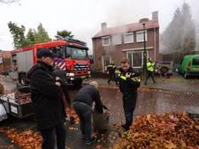 Woningbrand in Hapert snel onder controle