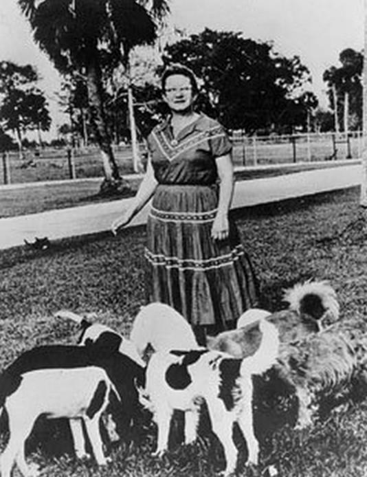 Elenor Ritchey en haar honden
