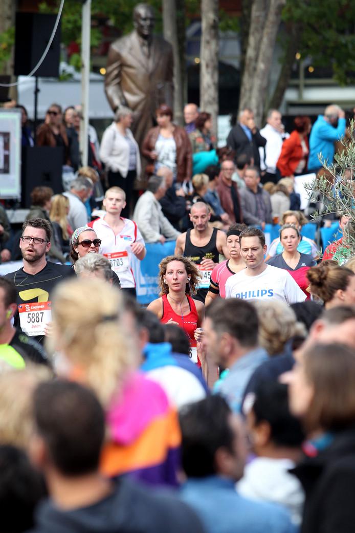 Beeld van de halve marathon, vorig jaar