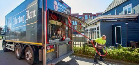 Bierbrouwer schiet cafés te hulp; tanks leeggepompt