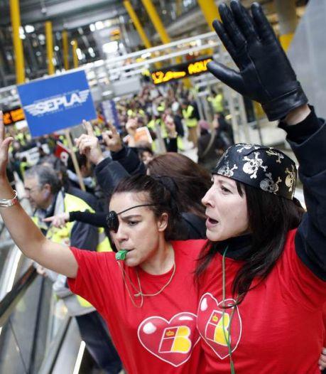 Nouvelle grève chez Iberia: près de 1.300 vols annulés