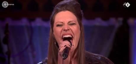 Floor Jansen bedolven onder complimenten na optreden in Beste Zangers