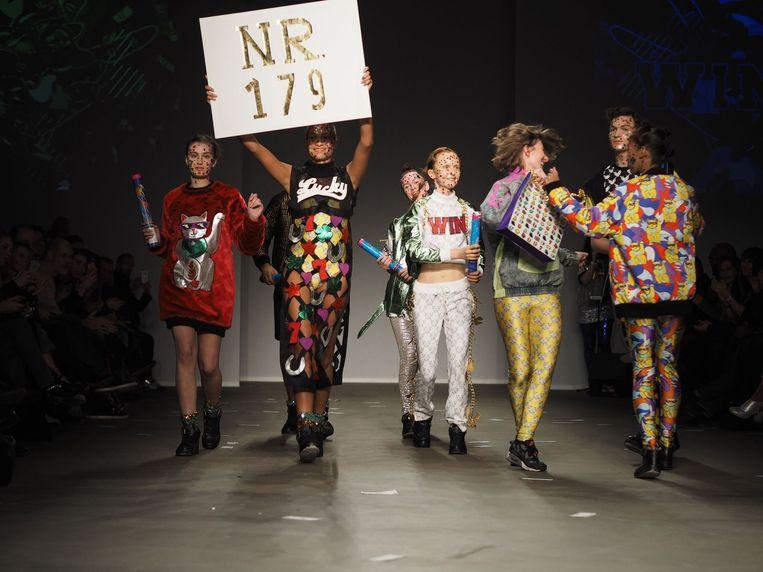 De vrolijke collectie van Esther Haamke Beeld FashionWeek Nederland